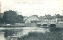 N°77135-cpa Arcis Sur Aube -bassin Des Moulins- - Arcis Sur Aube