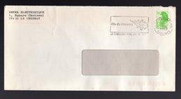 FRANCIA - 78  LE CHESNAY - YVELINES -  FOGLIA DI QUERCIA - Briefe U. Dokumente