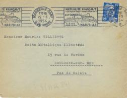 MARSEILLE GARE RBV 1954 DREYFUSS (MAR841) En 1994 Côte 60F MUTUALITE FRANCAISE CONGRES NATIONAL - Oblitérations Mécaniques (flammes)