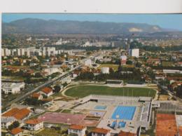 Football  Cp Stade Vue Aerienne Du Stade De Montelimar - Soccer