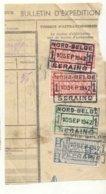 D494A -België NORD BELGE Stempel SERAING 1 Op Fragment - Bahnwesen
