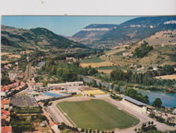 Football  Cp Stade Vue Aerienne Du Stade De Millau  12 - Soccer