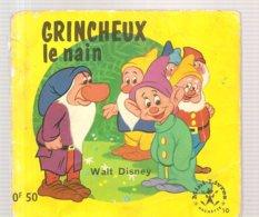 Collection Mini-Livres Hachette N°10 De 1963 GRINCHEUX Le Nain De Walt Disney - Livres, BD, Revues