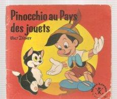 Collection Mini-Livres Hachette N°64 De 1965 Pinocchio Au Pays Des Jouets De Walt Disney - Books, Magazines, Comics