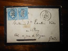 Enveloppe GC 1648 Gex Ain - 1849-1876: Klassik