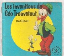 Collection Mini-Livres Hachette N°58 De 1965 Les Inventions De Géo Trouvetout De Walt Disney - Books, Magazines, Comics