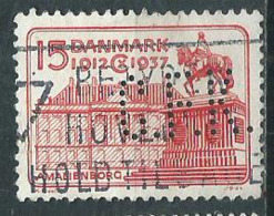 Timbre Danemark Perforé CFK - 1913-47 (Christian X)