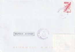 13109 NIUTAHI - APATAKI - POLYNÉSIE FRANÇAISE - Griffe Linéaire - Lettres & Documents