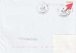 13111 TIPUTA - RANGIROA - POLYNÉSIE FRANÇAISE - Griffe Linéaire - Lettres & Documents