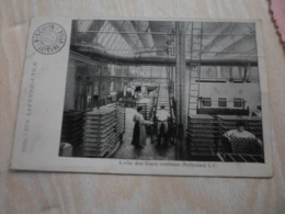 CPA ANIMEE - INDUSTRIE - BISCUITS LEFEVRE-UTILE - SORTIE DES FOURS - Industry