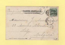 Morocco - Maroc - Tanger - 1903  Destination Belgique - Oficinas En  Marruecos / Tanger : (...-1958