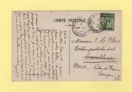 Morocco - Maroc - British Post Office Casablanca - 1914 - Destination Tanger - Oficinas En  Marruecos / Tanger : (...-1958