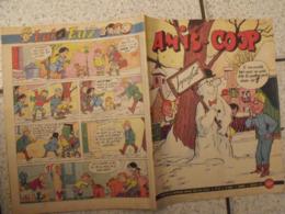 Amis-coop N° 40 De Décembre 1961. Journal BD à Redécouvrir. 36 Pages. - Magazines Et Périodiques