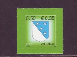 Estland 2008.Arms Of Valga. MNH. Pf. - Estland