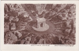 F75-478 PARIS - C.A.S. PARIS - L'ETOILE - CLICHE COMPAGNIE AÉRIENNE FRANÇAISE - Arc De Triomphe