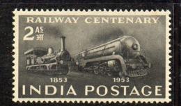 Y303 - INDIA 1953, Yvert N. 43  ***  MNH  (2380A)  Treni - Nuovi
