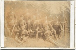 PHOTO ANCIENNE MILITAIRES 1897? - Oud (voor 1900)