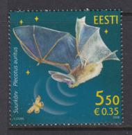 Estland 2008. Fauna - Bat. MNH. Pf. - Estland