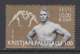 Estland 2008.The 100th Anniversary Of The Birth Of Olympic Champion Kristjan Palusalu. MNH. Pf. - Estland