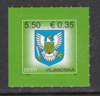 Estland 2008.Arms Of Viljandi County. MNH. Pf. - Estland