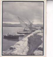 ESPAGNE IVIZA IBIZA  SAN ANTONIO Bateau Port 1930 Photo Amateur Format Environ 7,5 Cm X 5,5 Cm - Places
