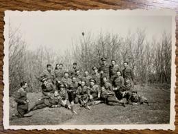 Romania - Aplicatii Topografice - Padurea Rosu Jud Ilfov 26 Martie 1938 - 60/90 Mm - Oorlog, Militair