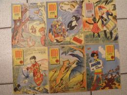 """Lot De 6 Revues BD """"Ima L'ami Des Jeunes"""" De 1956. Journal BD à Redécouvrir. Erik, Jean Ache Moreau Alain Saint Ogan - Magazines Et Périodiques"""