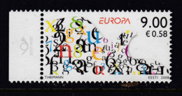Estland 2008.  Writing Letters. MNH. Pf. - Estland