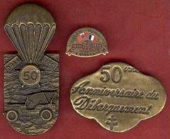 ** LOTS  DEBARQUEMENT  -  NORMANDIE ** - 1939-45