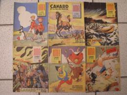 """Lot De 6 Revues BD """"Ima L'ami Des Jeunes"""" De 1955-56. Journal BD à Redécouvrir. Erik, Jean Ache Moreau Alain Saint Ogan - Magazines Et Périodiques"""