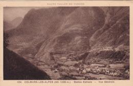COLMARS LES ALPES VUE GENERALE (dil430) - France