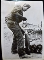 PHOTO Presse WW2 WWII : ARTILLERIE à L'EST _ HEER _ 28.7.1944 - Oorlog, Militair