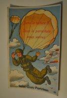 22 Côtes D Armor Saint Quay Portrieux Carte Systeme Dans La Nature Sous Le Parachute Vous Verrez Militaire Parachutiste - Saint-Quay-Portrieux
