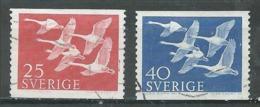 Suède YT N°409/410 Norden 56 Oblitéré ° - Used Stamps