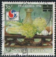 Nouvelle-Calédonie 1994 Poste Aérienne Yv. N°318 - Philakorea - Chou, Céleri, Ail - Oblitéré - Luftpost
