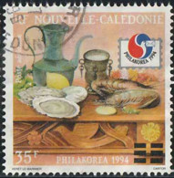 Nouvelle-Calédonie 1994 Poste Aérienne Yv. N°320 - Philakorea - Fruits De Mer, Citron - Oblitéré - Luftpost