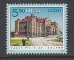 Estland 2008. Manor Halls. Kalvi. MNH. Pf. - Estland