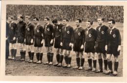 SC CHEMIE HALLE LEUNA DDR Oberliga Fussball Manschaft 1954 Namen Rückseitig Handschriftlich Aufgeführt - Soccer