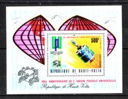 Alto Volta   - 1974.  UPU. Satellite Per Trasmissioni. Sheet MNH - Telecom