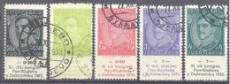 Yougoslavie; Yvert N° 231/235 - Gebraucht
