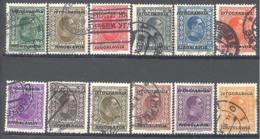 Yougoslavie; Yvert N° 239/250 - Gebraucht