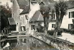 CARTE PUBLICITAIRE AUBERGE LE MOULIN DE JARCY - Visitenkarten