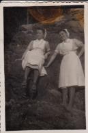 Foto 2 Deutsche Krankenschwestern - 2. WK - 8*5,5cm (44166) - Krieg, Militär
