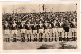 BSG CHEMIE KARL MARX STADT DDR Oberliga Fussball Manschaft 1954 Namen Rückseitig Handschriftlich Aufgeführt - Soccer