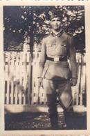 Foto Deutscher Soldat - 2. WK - 8*5,5cm (44167) - Krieg, Militär