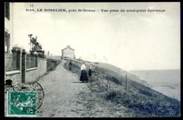 Cpa Du 22 Le Roselier  Près  St Brieuc Vue Prise Du Rond Point Spéranza  LZ71 - Saint-Brieuc