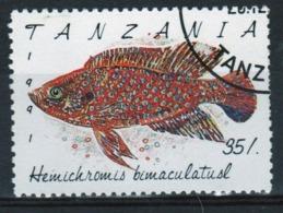 Tanzania 1992 Single 35s Stamp From The Definitive Set On Marine Life. - Tanzania (1964-...)