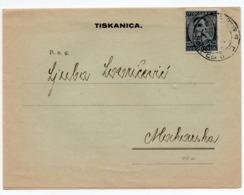 1934 YUGOSLAVIA, CROATIA, ZAGREB, JADRAN, STATIONERY WHOLESALER, CHRISTMAS PRICE LIST, SENT TO MAKARSKA - Advertising