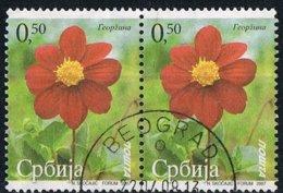 2007 - SERBIA - FIORI E PAESAGGI. USATO - Serbia
