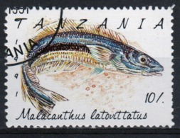 Tanzania 1992 Single 10s Stamp From The Definitive Set On Marine Life. - Tanzania (1964-...)